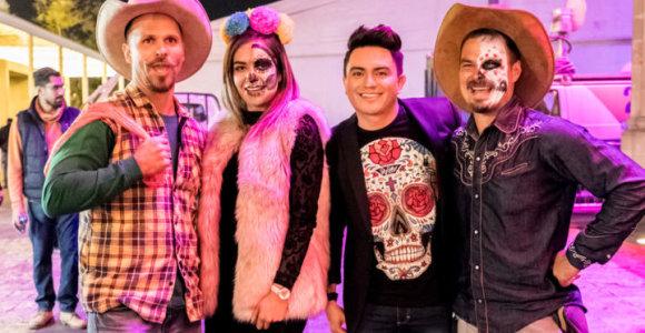 A.Bružas ir L.Pobedonoscevas pateko į mirusiųjų šventę Meksikoje: patyrė tikrą kultūrinį šoką