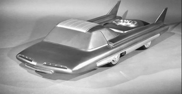 """Neišsipildžiusi svajonė: atominis """"Ford Nucleon"""" galėtų nuvažiuoti 8 tūkst. km be sustojimo"""