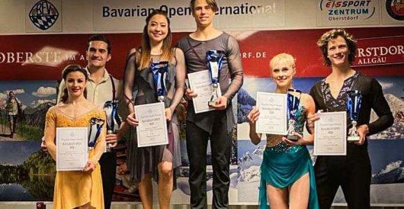 Oberstdorfe – aukso medaliais pasipuošę A.Reed ir S.Ambrulevičius