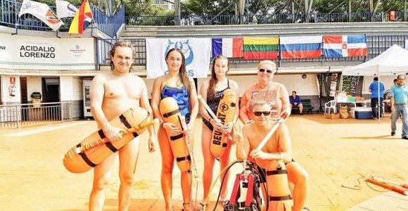 Gediminas Juodeika atstovaus Lietuvai povandeninio nardymo čempionate prie Tailando