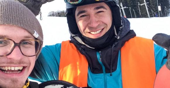 Fotografas ant snieglentės: kaip nugalėta baimė virto nepakartojamais įspūdžiais