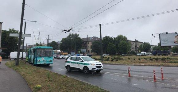 Nepaprasta padėtis Kaune: pažeidus dujotiekį buvo uždaryta gatvė
