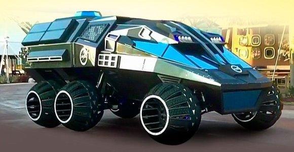 Floridoje pristatytas marsaeigis, primenantis šarvuotą transporterį