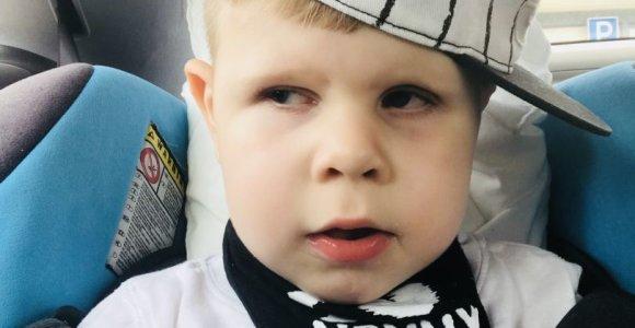 Tėvų kova už Adomą: buvo likusios vos kelios dienos, ir berniukas būtų apakęs