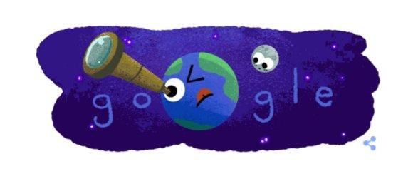 """Google iliustr./""""Google"""" pasisveikinimas su septyniomis egzoplanetomis"""
