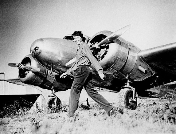Wikimedia.org nuotr./Amelia Earhart (1937 m.)