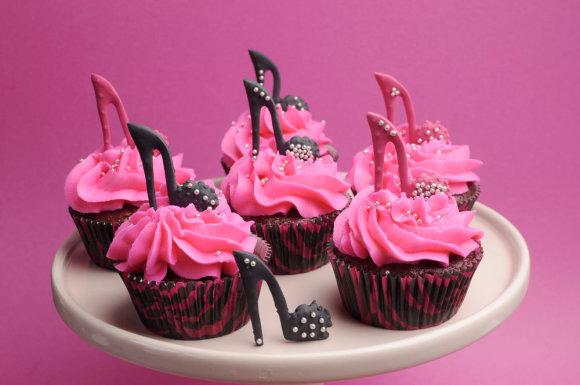 Shutterstock nuotr./Šokoladiniai keksiukai.