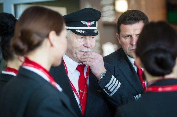 """""""Air Lituanica"""" nuotr./Oro linijų bendrovė """"Air Lituanica"""" pradeda skrydžius į Hamburgą"""