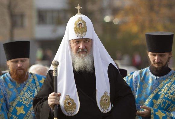 """""""Reuters""""/""""Scanpix"""" nuotr./Rusijos Ortodoksų Bažnyčios patriarchas Kirilas"""