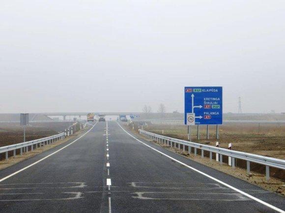 Automobilių kelių direkcijos nuotr./Palangos aplinkkelis
