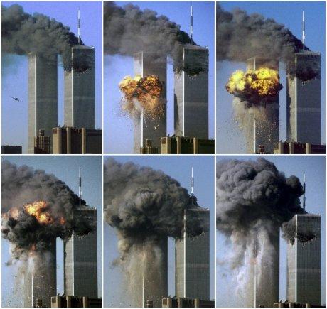 """""""Reuters""""/""""Scanpix"""" nuotr./Rugsėjo 11-osios teroristinis išpuolis"""