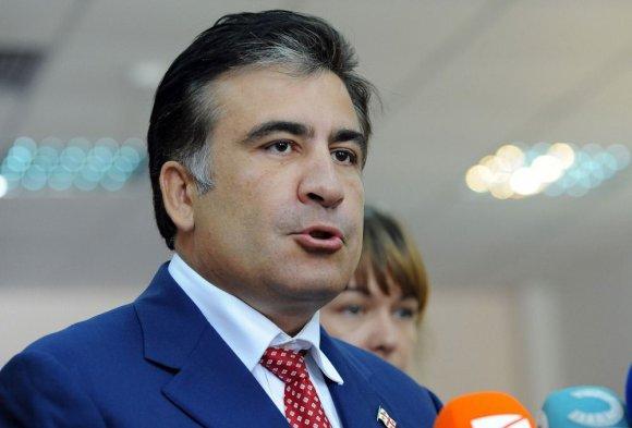 """AFP/""""Scanpix"""" nuotr./Gruzijos prezidentas Michailas Saakašvilis"""
