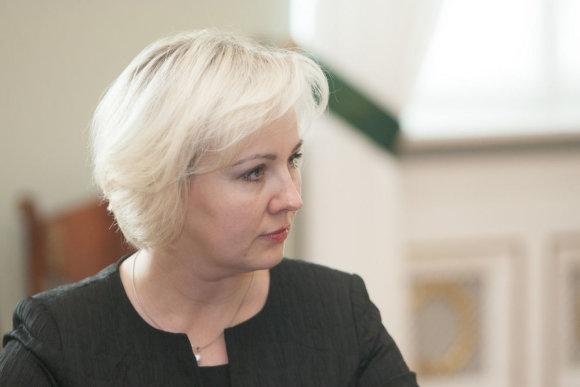 Juliaus Kalinsko / 15min nuotr./Kainų komisijos pirmininkė Diana Korsakaitė