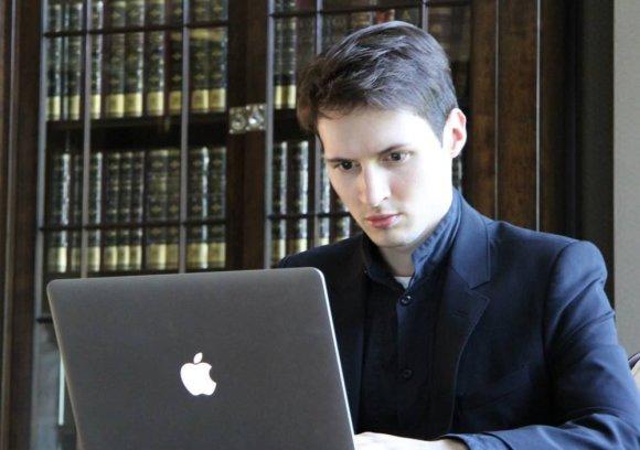 """Vk.com nuotr./""""VKontakte"""" įkūrėjas ir generalinis direktorius Pavelas Durovas"""