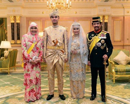 AFP/Scanpix nuotr./Karališkosios vestuvės Brunėjuje