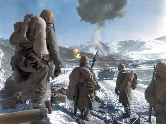 Vida Press nuotr./Korėjos karo nuotraukos su grąžintomis spalvomis