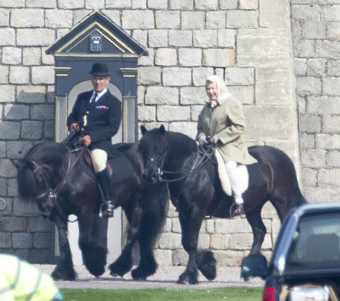 Vida Press nuotr./Karalienė Elizabeth II