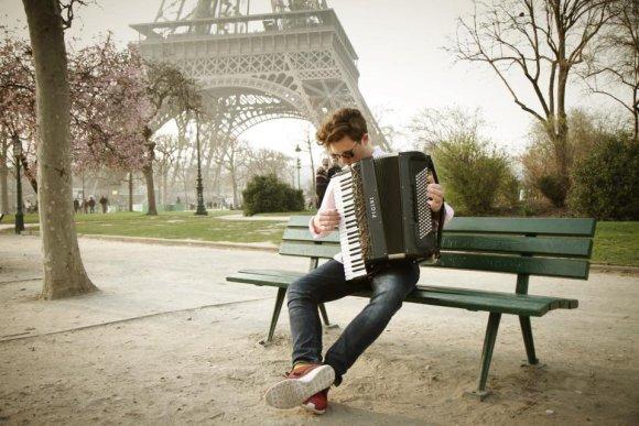 Asmeninio albumo nuotr./Martynas Levickis Paryžiuje