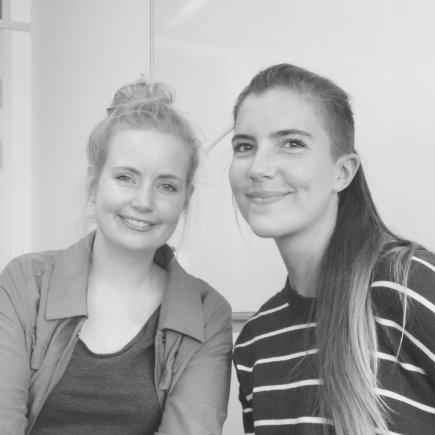 Žaidimo kūrėjos – Tanja Lind Tankred ir Mira Dorthé