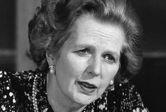 "AFP/""Scanpix"" nuotr./Margaret Thatcher 1984 metais"
