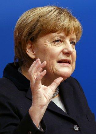 """""""Reuters""""/""""Scanpix"""" nuotr./Vokietijos Krikščionių demokratų sąjungos suvažiavimas"""