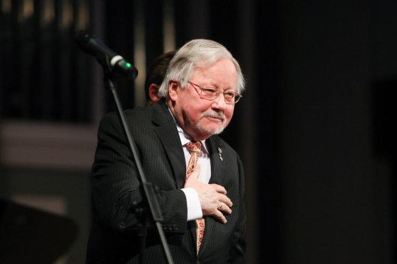 Juliaus Kalinsko / 15min nuotr./Profesorius Vytautas Landsbergis