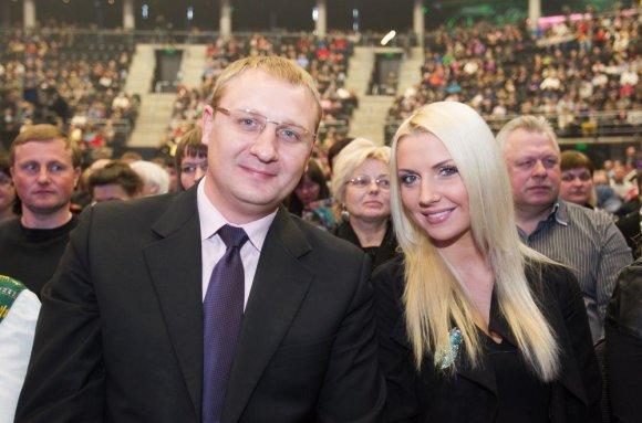 Irmanto Gelūno/15min.lt nuotr./Andrius Šedžius ir Monika Šedžiuvienė