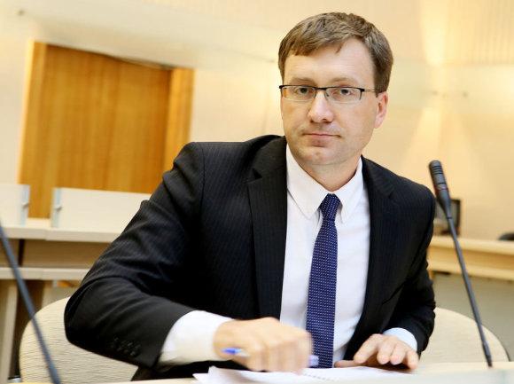 Eriko Ovčarenko / 15min nuotr./Naujas KTE vadovas Evaldas Paulavičius
