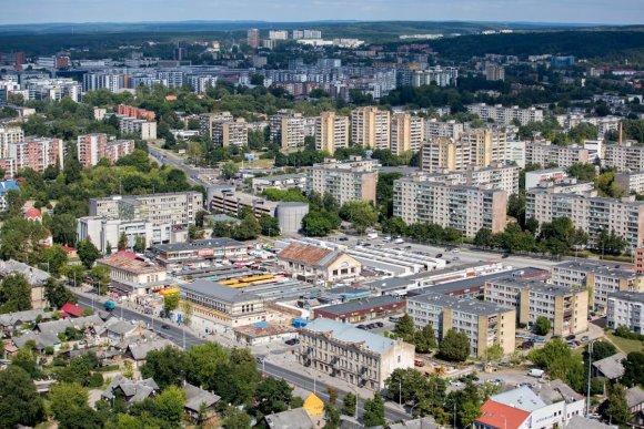 Vidmanto Balkūno / 15min nuotr./Vilniaus panorama