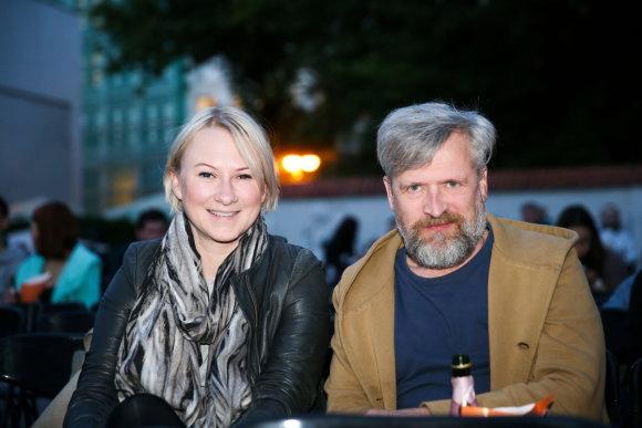 Viganto Ovadnevo/Žmonės.lt nuotr./Julija Janus ir Saulius Baltakis