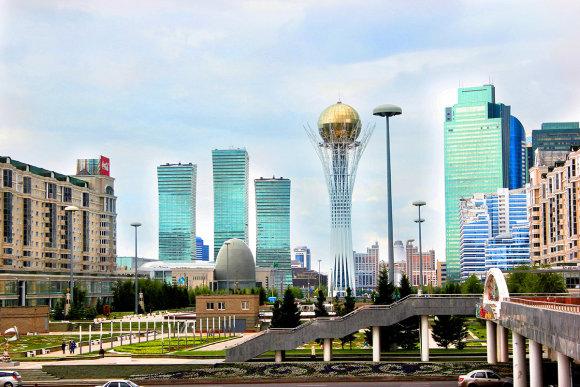 Saulius Paukštys nuotr./Kazachstanas