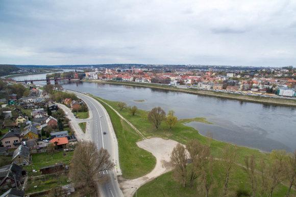 Kauno miesto savivaldybės nuotr./Kauno koncertų centro vieta