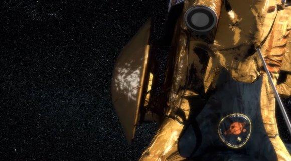 """Stopkadras/""""Huygens"""" modulis atsiskiria nuo """"Cassini"""" zondo"""