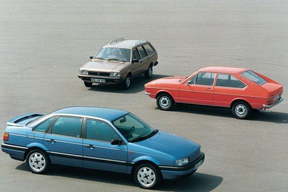 """""""Volkswagen Passat"""" modeliai"""