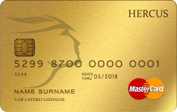HERCUS kortelė