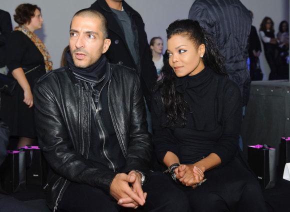 """""""Reuters""""/""""Scanpix"""" nuotr./Janet Jackson ir Wissamas Al Mana"""