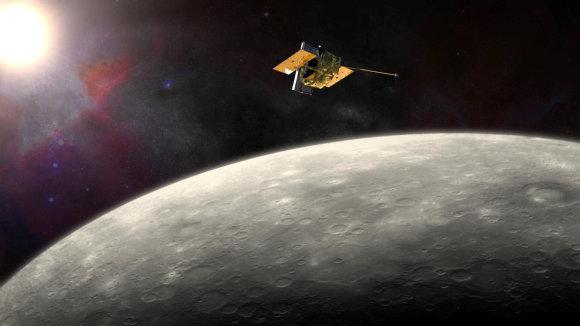 Scanpix/NASA nuotr./Merkurijaus tyrimų zondas MESSENGER
