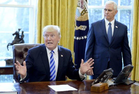 """Scanpix""/""Sipa USA"" nuotr./Donaldas Trumpas"