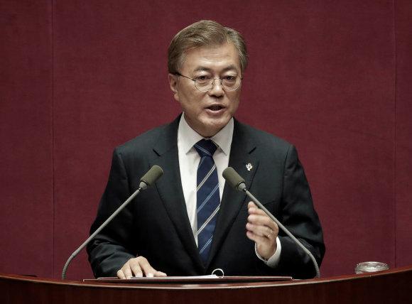 """Reuters""/""Scanpix"" nuotr./Moon Jae-inas"