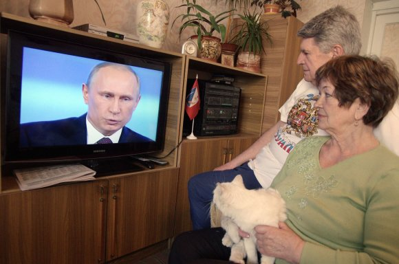 "AFP/""Scanpix"" nuotr./Propaganda Rusijoje"