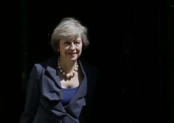 """Scanpix""/AP nuotr./Theresa May"