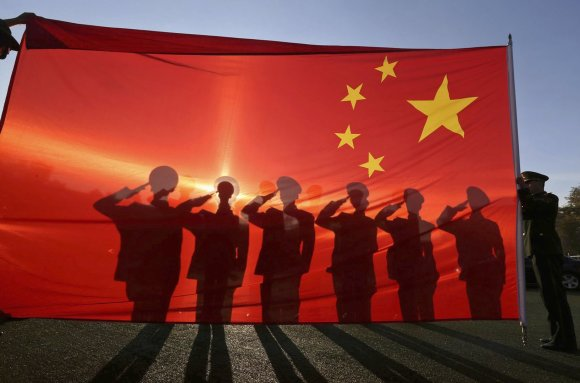 """""""Reuters""""/""""Scanpix"""" nuotr./Kinijos kariai"""