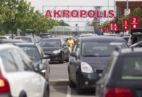 """Irmanto Gelūno/15min.lt nuotr./""""Jamam"""" nuolaidų diena Vilniaus """"Akropolyje"""""""