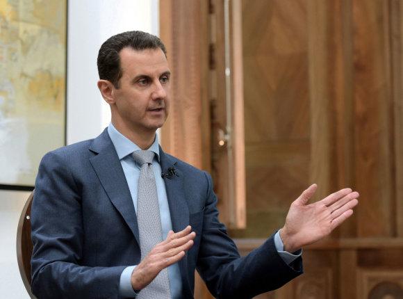 """""""Reuters""""/""""Scanpix"""" nuotr./Basharas al Assadas"""