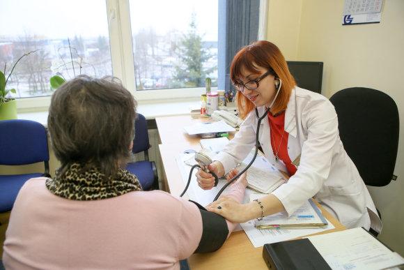 Eriko Ovčarenko / 15min nuotr./Gydytojos konsultacija