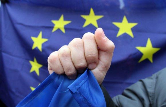 "AFP/""Scanpix"" nuotr./ES vėliava"
