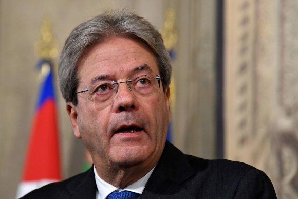 """AFP/""""Scanpix"""" nuotr./Paolo Gentiloni"""