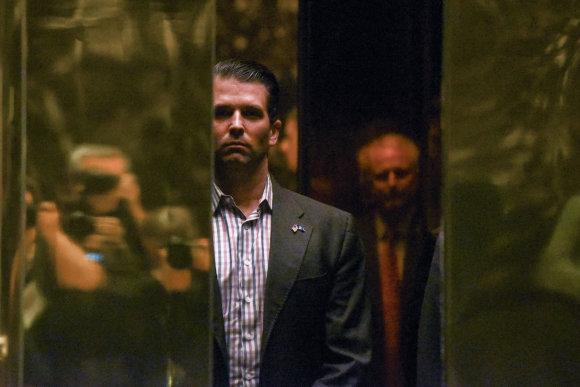 """""""Reuters""""/""""Scanpix"""" nuotr./Donaldas Trumpas jaunesnysis"""