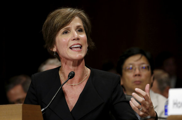 """Reuters""/""Scanpix"" nuotr./Sally Yates"
