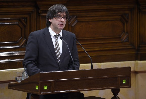 "AFP/""Scanpix"" nuotr./Carlesas Puigdemont'as"